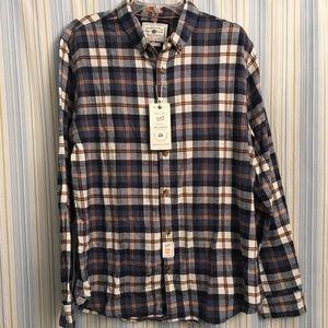 NWT Denim & Flower Men's Flannel Shirt